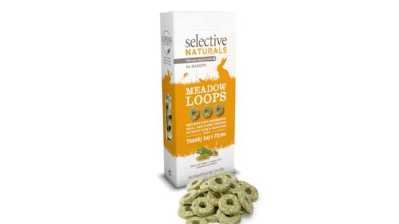 Supreme Science Selective Naturals Meadow Loops for Rabbit, 2.8 oz.
