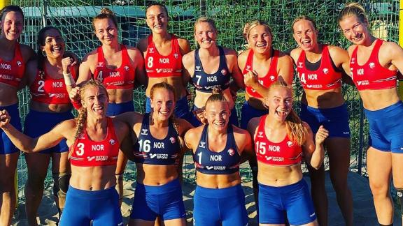 """The Norwegian Handball Association (NFH) pledged to fight regulations so players could wear clothing they are """"comfortable"""" in."""