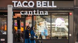 Taco Bell is going through a meals scarcity