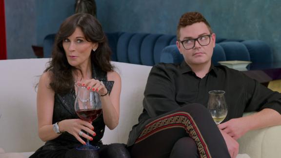 Julia Haart et Robert Brotherton dans un épisode de
