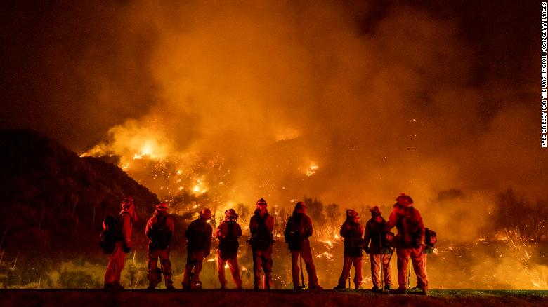 A couple whose 2020 gender reveal party allegedly sparked a deadly wildfire in California has been charged in the death of a firefighter