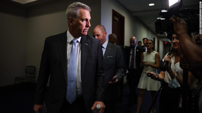 House Republicans pull out of another key select committee in a sign of 1/6 panel fallout