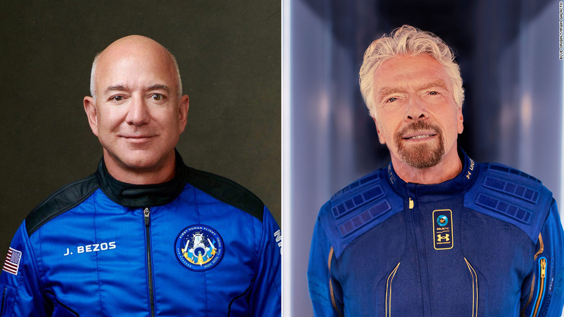 Jeff Bezos and Richard Branson went to space. Here's when you can go, too