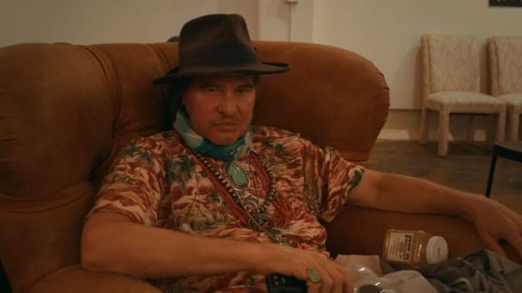 Val Kilmer comme on le voit dans le documentaire 'Val.'