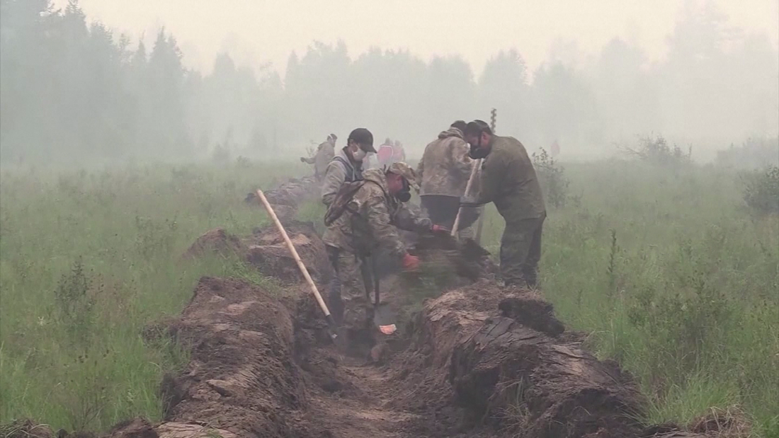 Huge swaths of Siberia are on fire. See how firefighters are responding