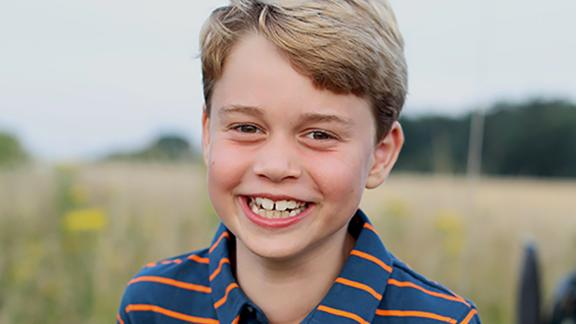 The photograph to mark Prince George's 8th birthday was taken by his mother.