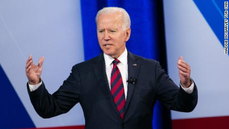 Joe Biden babbles incoherently during CNN town hall train wreck