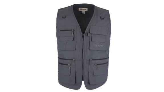 Outdoors Travel Sports Multi-Pockets Sleeveless Jacket