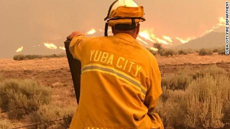 As wildfires worsen, firefighters are on the front lines of climate change