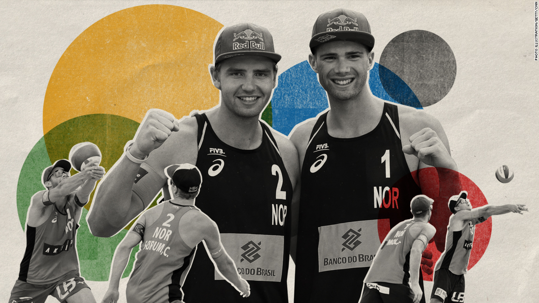 'We're not satisfied yet': World No. 1 men's beach volleyball duo on rising through the ranks ahead of Tokyo 2020