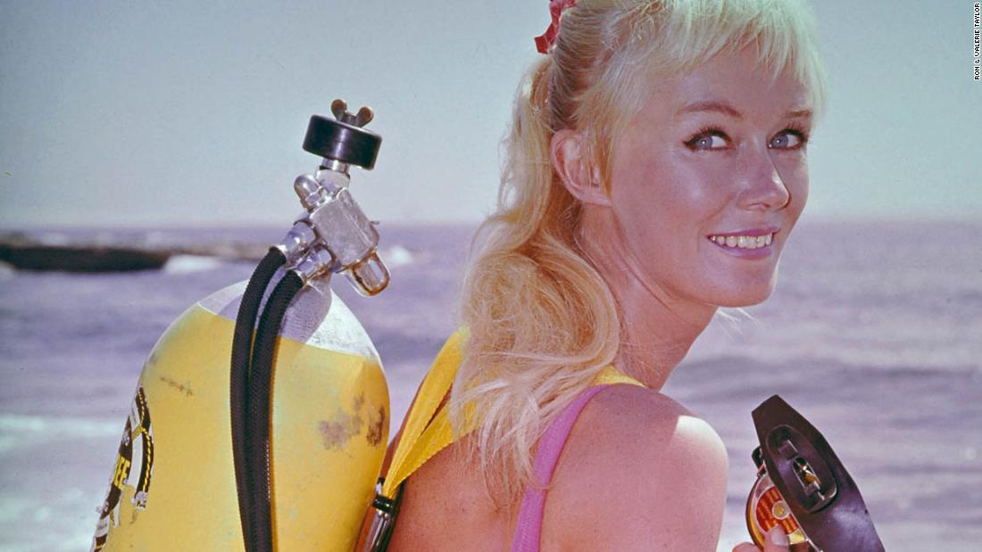The fearless woman who fimed the real 'Jaws'