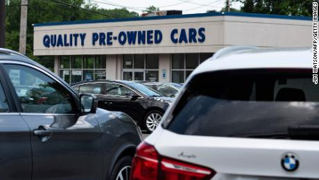 The scorching hot used car market may finally be cooling off