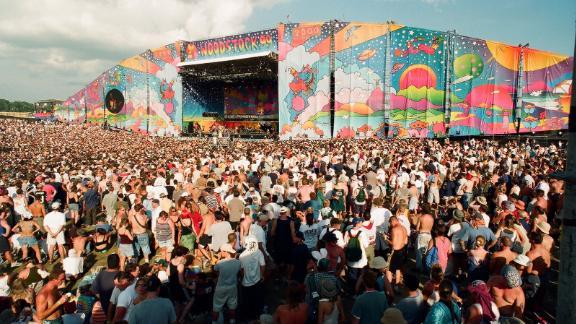 Une photo de Woodstock '99 comme on le voit dans le documentaire