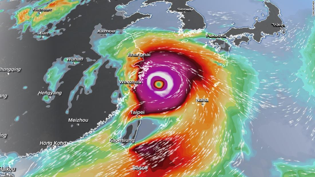 Weakening In-Fa to bring heavy rain to China as new storm could affect Tokyo Olympics - cnn