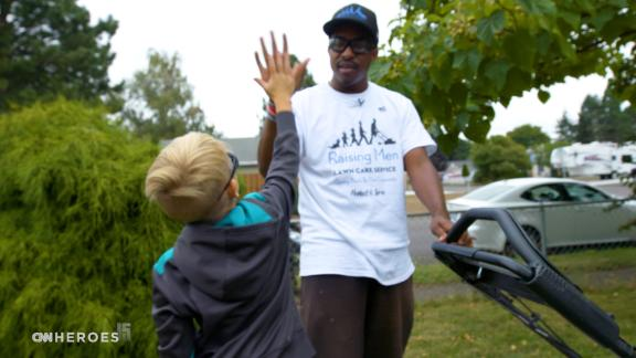 Image for CNN Heroes Salutes: Inspiring kids 'one lawn at a time'