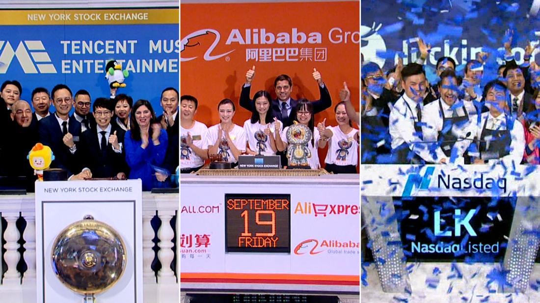split China tech company listing