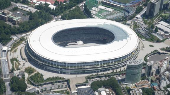 Image for See Tokyo 2020 Olympics from above
