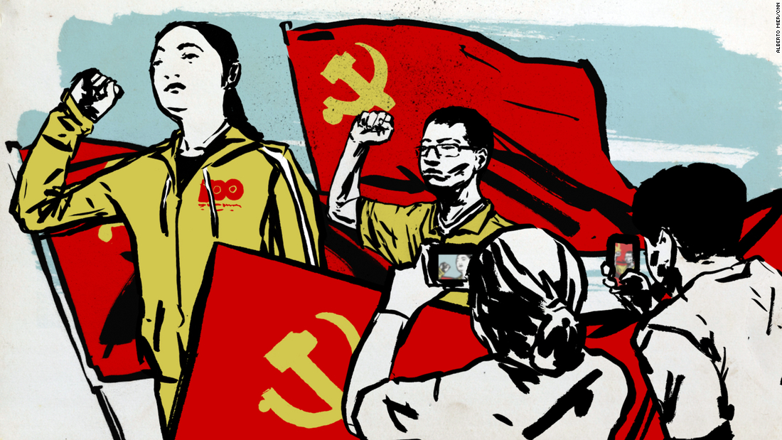 Xi Jinping's Communist party is under fire overseas. Millions of young Chinese are still joining