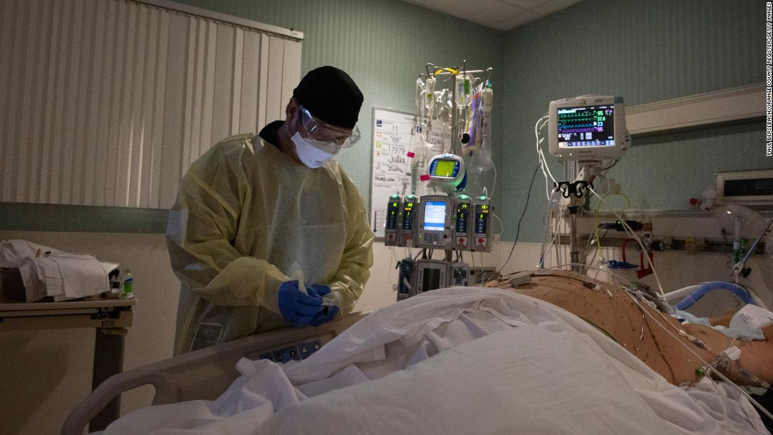 The rise in US Covid-19 hospitalizations is a self-inflicted wound, skilled says