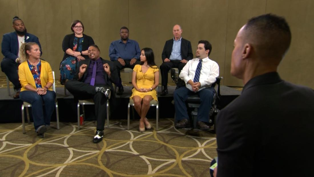 Voters give their verdict on Biden's remarks on crime and the Capitol riot