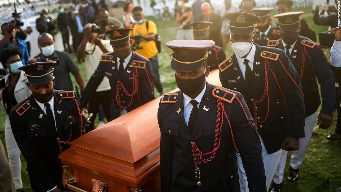 Fear stalks Haitians as their murdered president is buried and gangs terrorize the capital - cnn