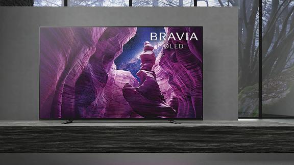 Sony A8H 55-Inch Bravia OLED 4K Ultra HD Smart TV