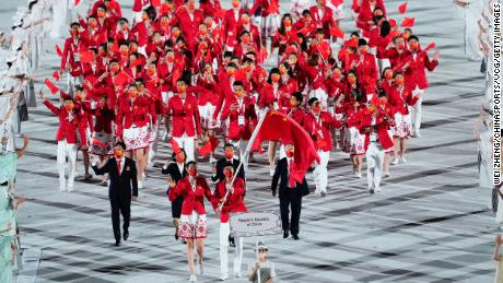 Nationalist sentiment soars as China gets off to a strong start at Tokyo Olympics