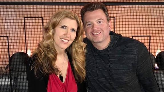 Brian Schmidt, pictured with his wife, Lesley, said he plans to pass along the sound credit card advice his dad gave him when his own son goes off to college.