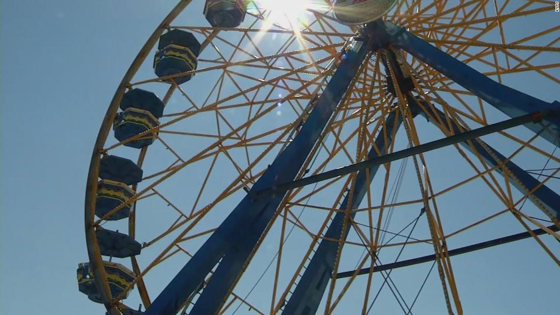A US hospital just hit its all-time high for Covid cases. But the county fair that attracts thousands won't be canceled
