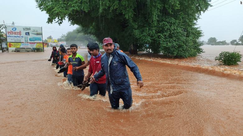 At least 112 dead in India as rains trigger floods, landslides