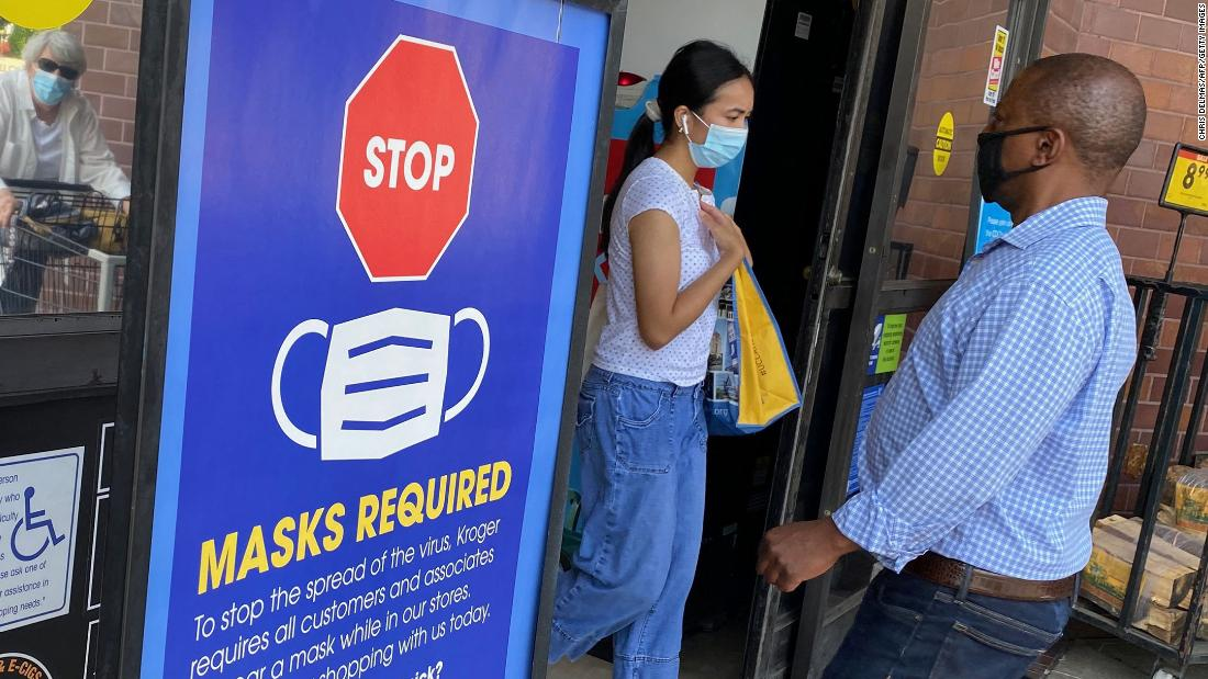 Decision on mask guidance is imminent, source says