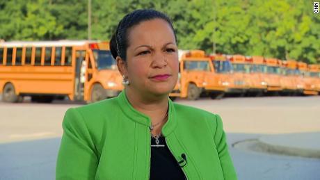 DeKalb superintendent Cheryl Watson-Harris says her goal is to make sure everyone is safe as children return to school.