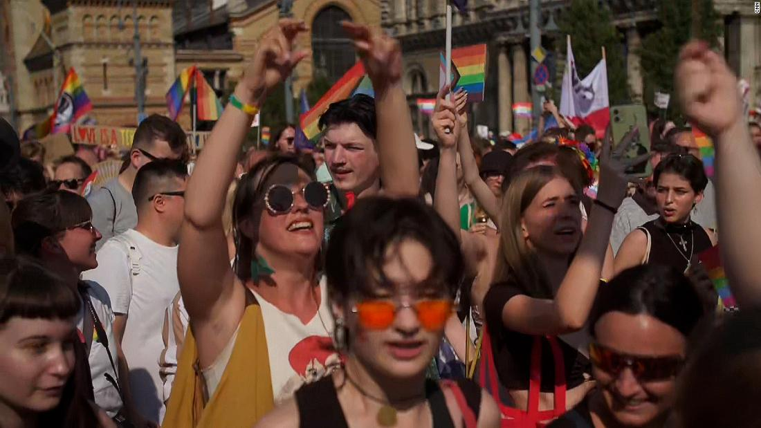 'Show of force': Large crowds demonstrate during Budapest's Pride celebrations