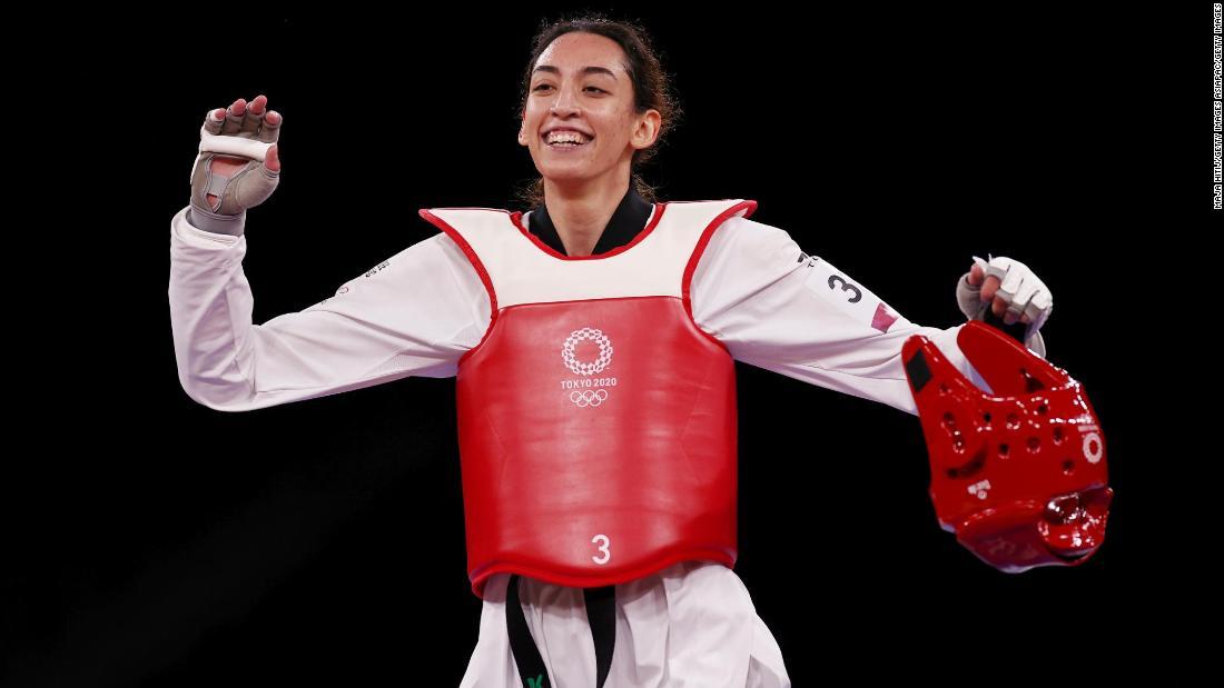 Iranian defector defeats two-time taekwondo champion