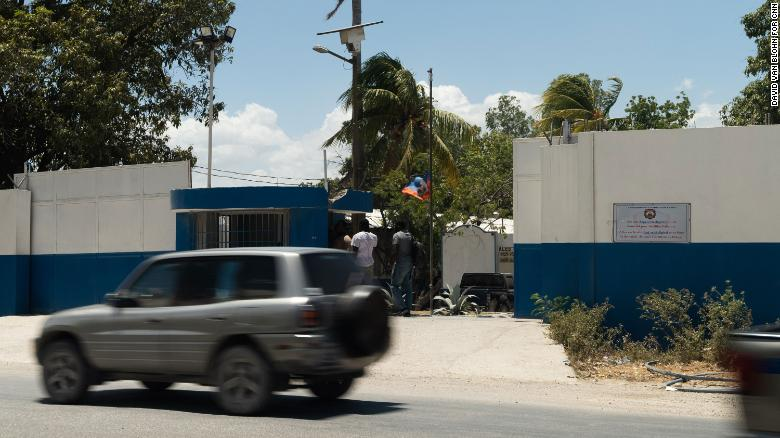 The headquarters of Haiti's judicial police, where key suspects and evidence are being held.