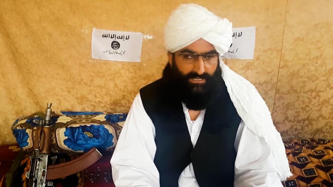 Leader of Pakistan's Taliban appears in first TV interview – CNN Video