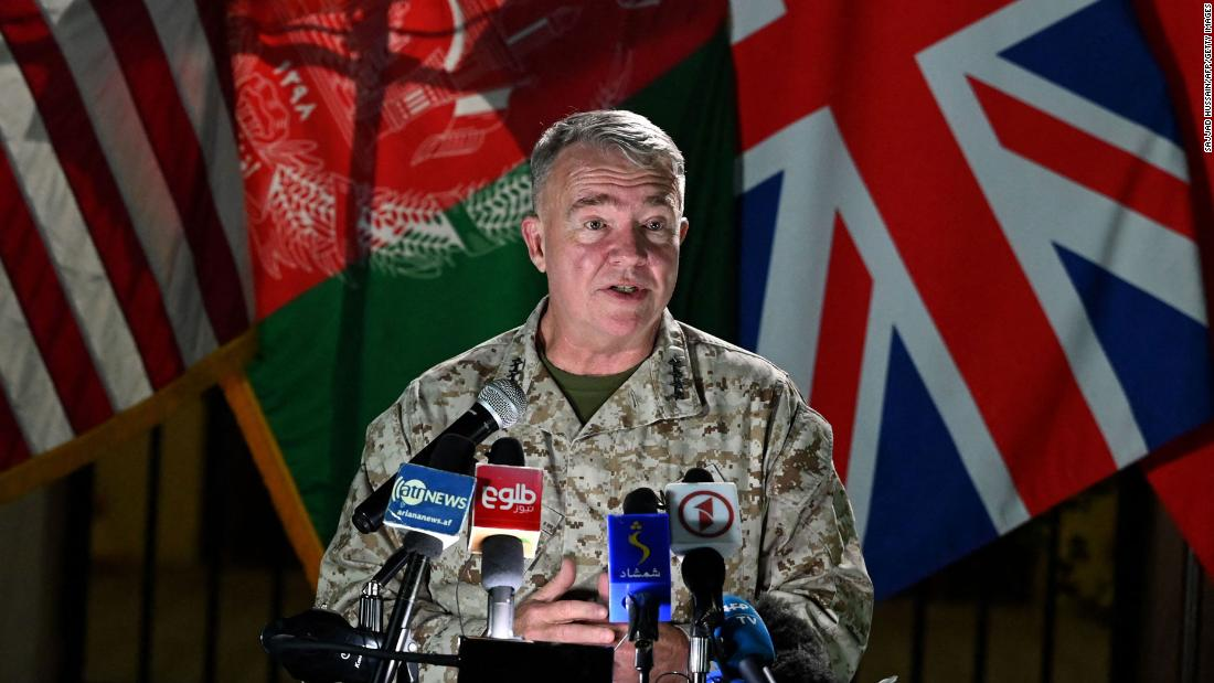 US general vows to continue airstrikes supporting Afghan troops