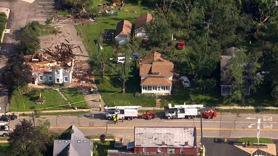 Tens of thousands of customers remain without power after tornadoes tore through Michigan