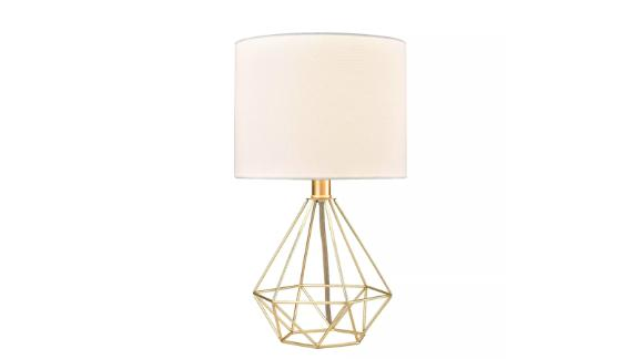 Wire Geo Table Lamp