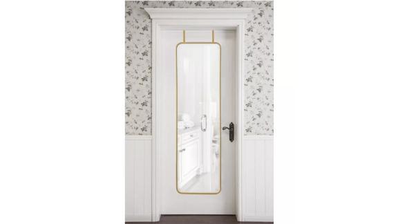Over-the-Door Metal Mirror