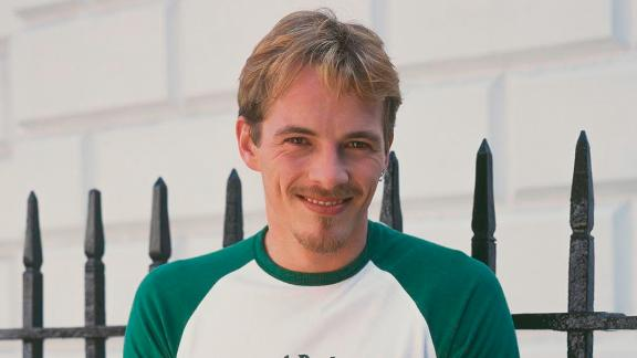"""Dieter Brummer, pictured here around 1995, during his time on """"Home along with Away"""""""