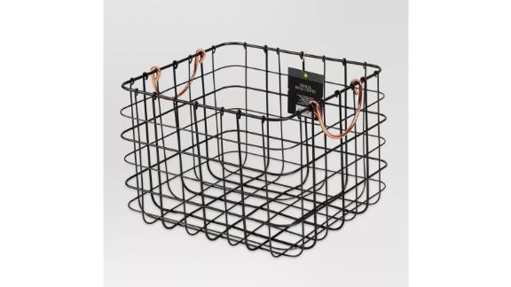 Threshold Small Milk Crate With Handles