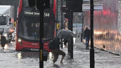 Las inundaciones en Londres son la última señal de que las grandes ciudades no están preparadas para el cambio climático