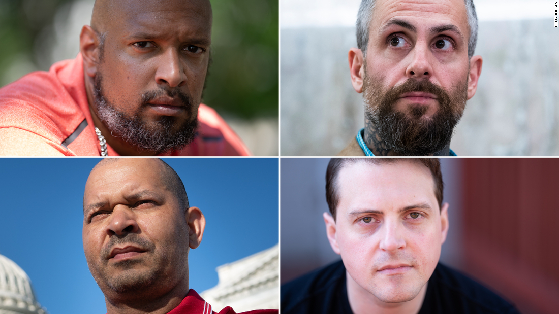 January 6 select committee will hear from 4 police officers Tuesday. Here are their stories
