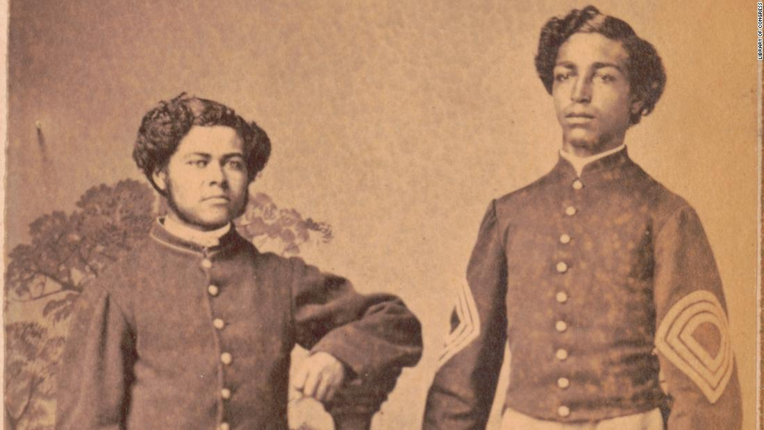 Rarely-seen photos tell the story of America's Black Civil War soldiers