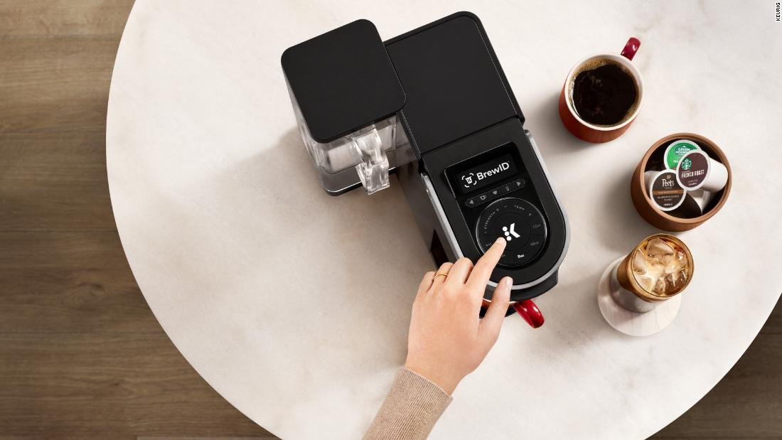 We tried Keurig's new smart coffee brewer and it's the highlight of our morning