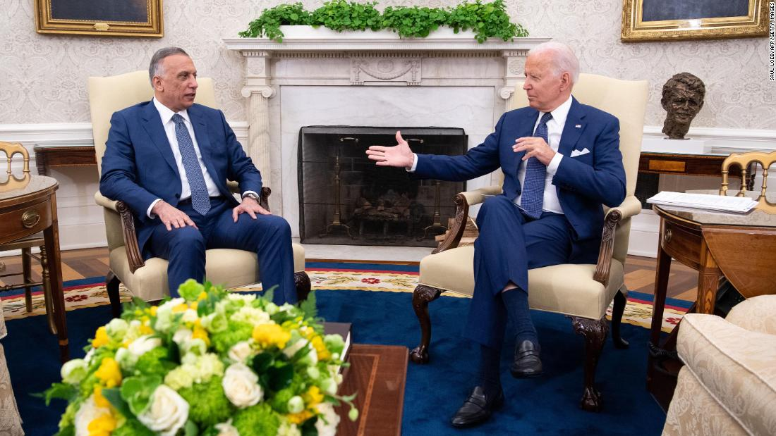 Biden announces end of combat mission in Iraq as he shifts US foreign policy focus | CNN Politics