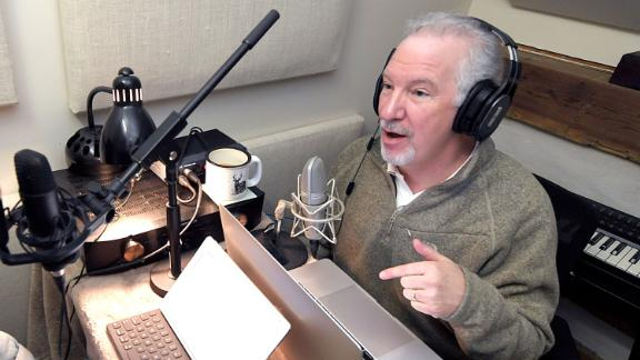 Popular syndicated conservative radio personality Phil Valentine has started a new podcast with his adult son, Campbell, that has nothing to do with politics. The father and son record a podcast in their cabin in Brentwood on Thursday, March 7, 2019. Nas Philvalentineandson 01