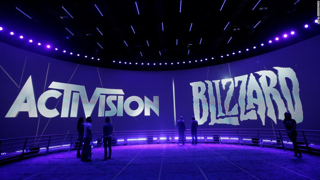 Activision Blizzard employees sign petition denouncing company's 'abhorrent' response to lawsuit – CNN