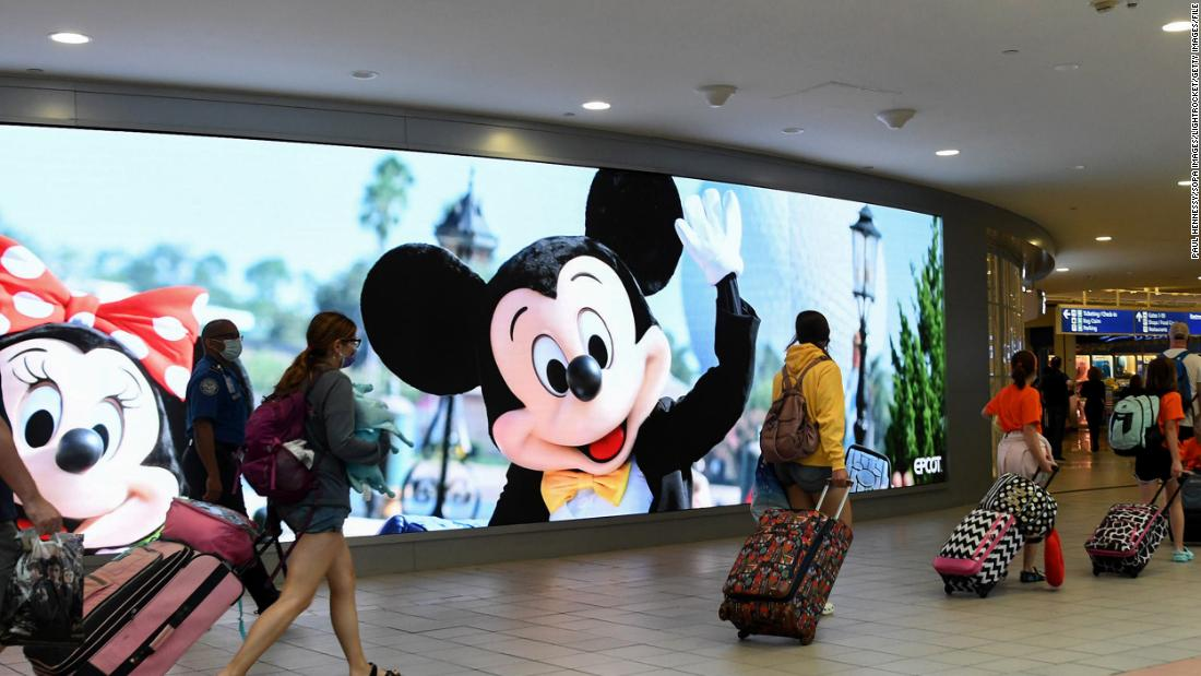 'We are now in crisis mode': Mayor of Florida county home to Disney World sounds alarm on surging Covid cases – CNN